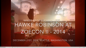 Hawke Robinson Speaking at ZoeCon II 2014