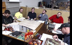 One of Hawke's Many Tabletop RPG Groups, this one at local neighborhood hobby store.